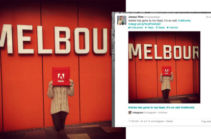 @AdobeCreativeSuiteRoadshow– #hashtagging the way to success