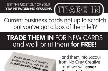 YTM Business Card Trade in