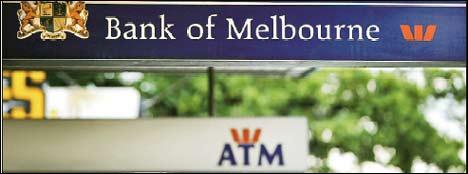 The former branding for Bank of Melbourne
