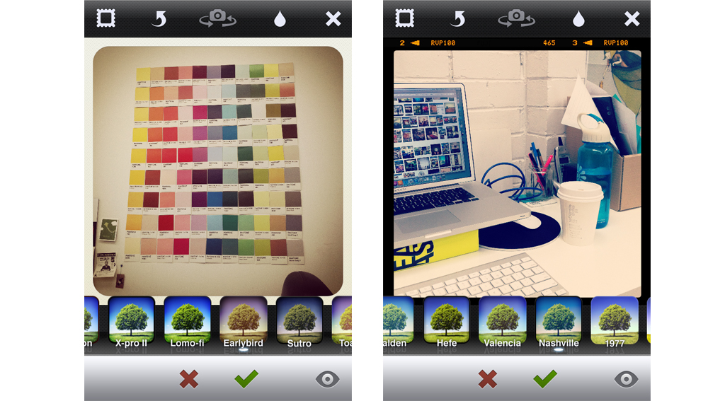 How the App works_ snap, filter, share!