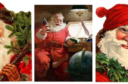 Santa Claus– the face of Christmas