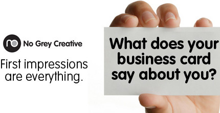 What does your business card say about you?