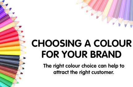 Choosing a colour for your brand