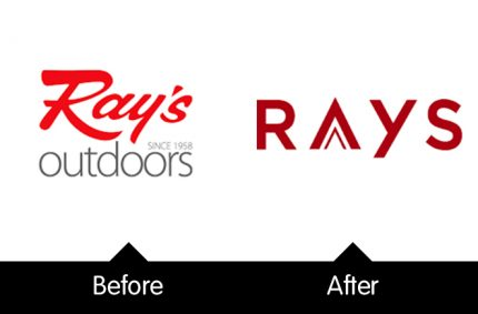 Ray's Outdoors rebrand