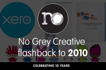 Looking back at 2010 – No Grey Creative turns 10