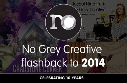 Looking back at 2014 – No Grey Creative turns 10