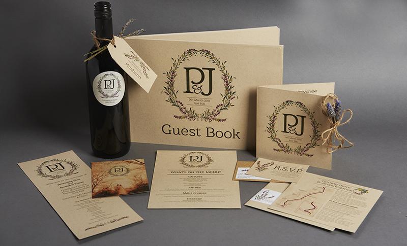 wedding invitation lindenderry