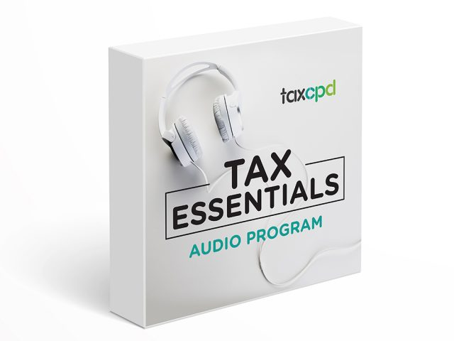 Tax CPD Audio Program