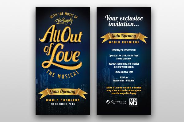 opening night invite