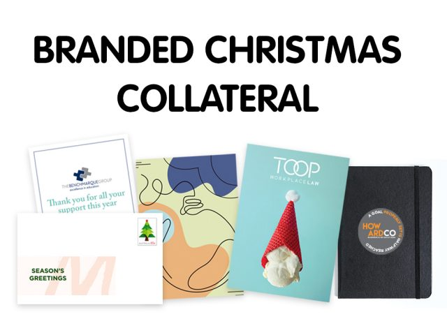 Branded Christmas Collateral