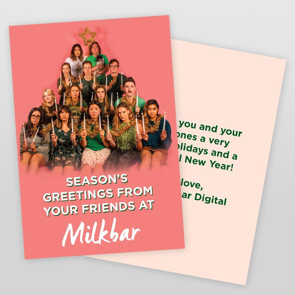 milkbar xmas cards